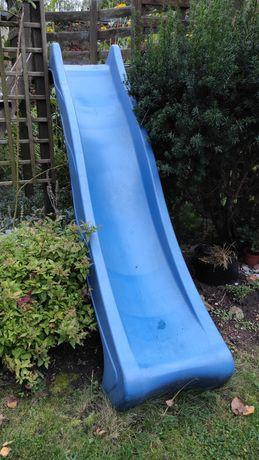 Zjeżdżalnia dla dzieci niebieska