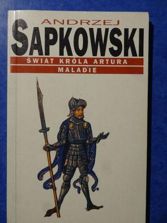 Świat króla Artura Maladie Andrzej sapkowski