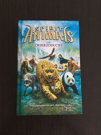 Brandon Mull Spirit Animal zwierzoduchy tom 1