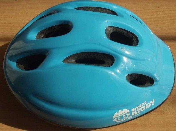Kask rowerowy dla dziecka z Decathlon dziecięcy rozmiar obwód 47-53 cm