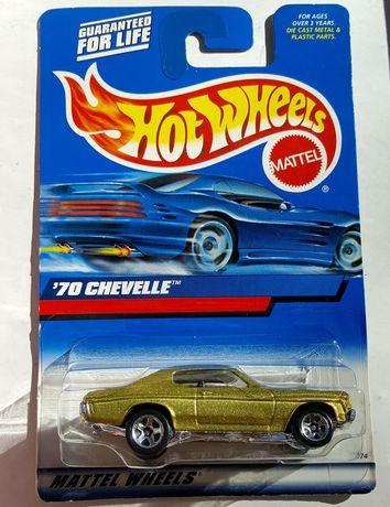 машинка моделька Chevelle (Hot Wheels, 2000) редкая новая оригинал USA