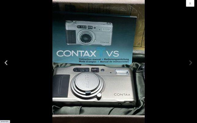 Contax TVS câmera compacta 35mm