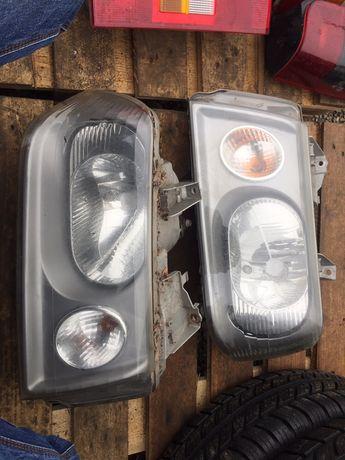 Fiat scudo фара бампер решітка капот крело дзеркало