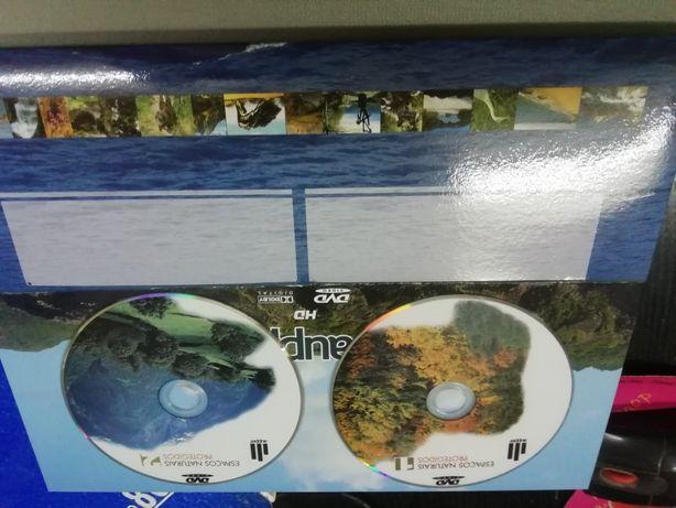 DVD e livros natureza