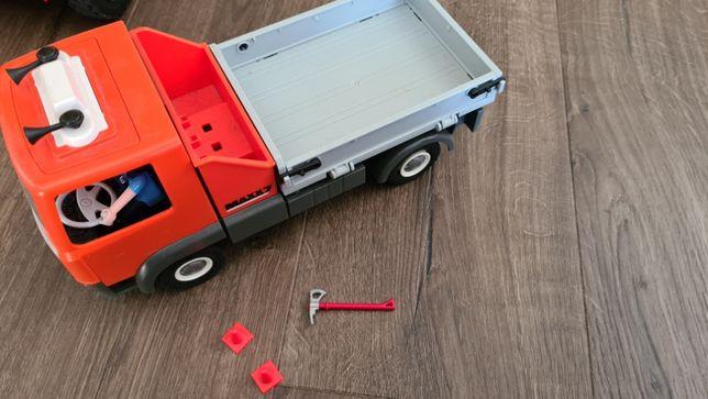 Playmobil samochód porządkowy przyczepa (stan bdb)