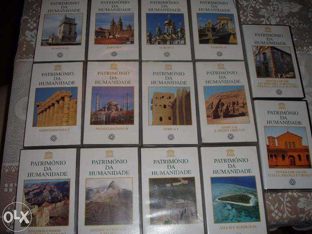 Coleção de cassetes VHS Património da Humanidade