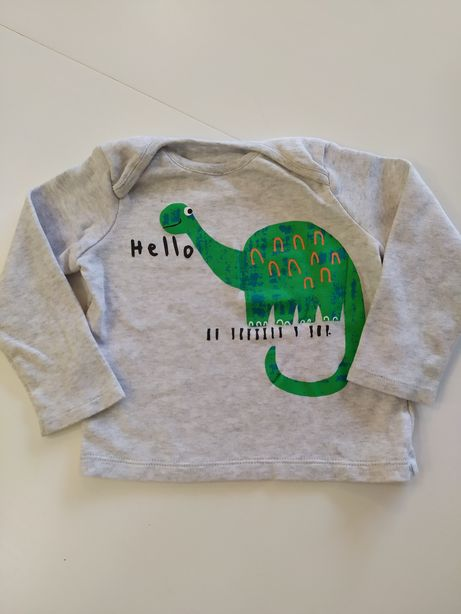Koszulka ff f&f Tesco dinozaur 68