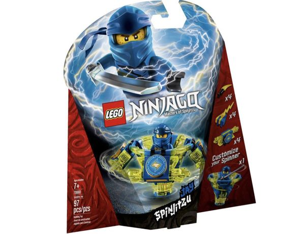 LEGO 70660 NinjaGo Spinjitzu Jay nowy