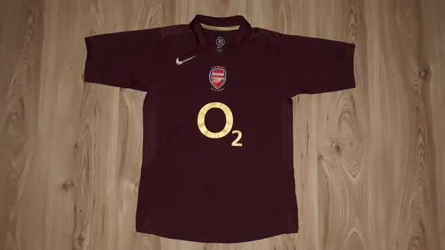Koszulka Nike L 158 Arsenal Londyn England 2005/06