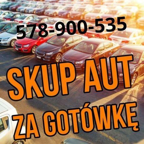 SKUP AUT za gotówkę - samochodow osobowych, busow, 4x4 itp...