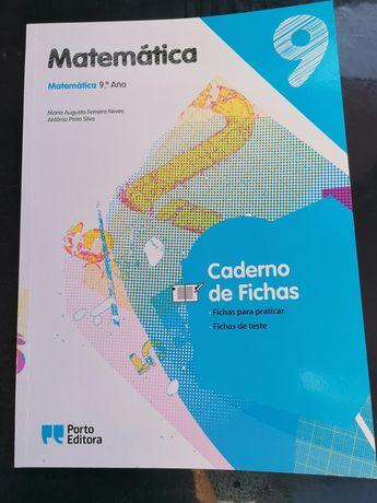 "Caderno de Fichas ""Matemática 9"""
