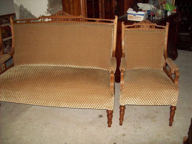 sofa fotele antyk