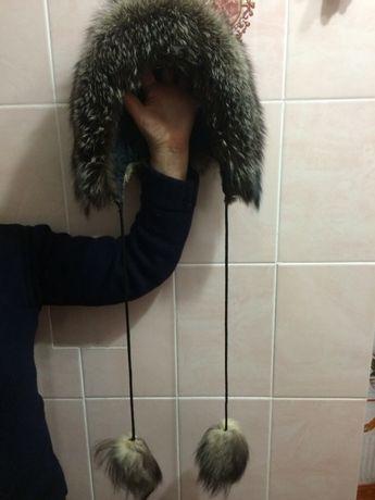 Шапка з чорнобурки