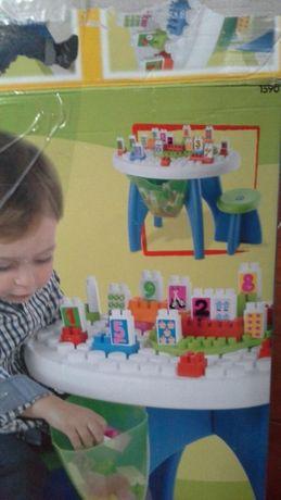 Stolik z klockami dla dzieci Smoby Abrick Ecoiffier