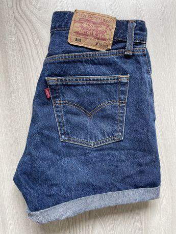 Krotkie spodenki jeans levis 501