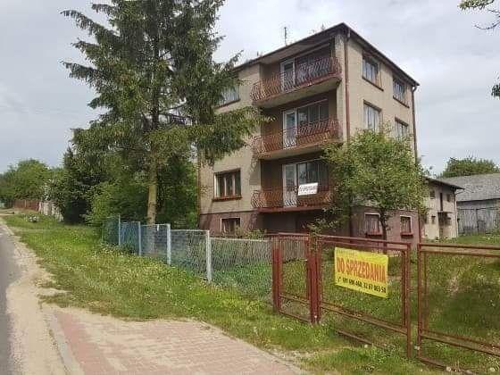 Dom+budynki gospodarcze+las+pole