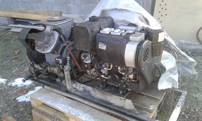 Kompresor Atlas Copco z pompą hydrauliczną silnik diesel Ruggerini,