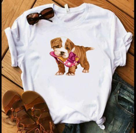 Koszulka bluzka t-shirt pies Buldog angielski S M L XL XXL