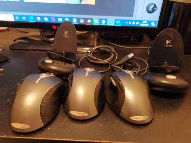 Conjunto 3 ratos wireless Logitech