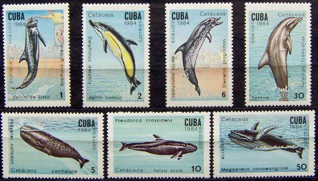 Znaczki Kuba 1984 stan** całe serie