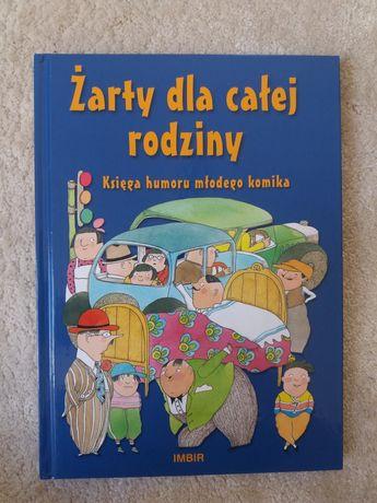 """""""Żarty dla całej rodziny"""" książka dla dzieci"""