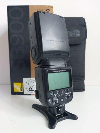 Профессиональная фотовспышка Nikon SB-900 + радиосинхронизатор