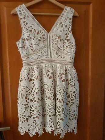 Sukienka koktajlowa lato ślub New Look Petit rozmiar S