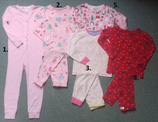 Piżamki(2-częściowe)-kombinezon-bluzeczka 3-4lata,4-5lat Święta,M&S
