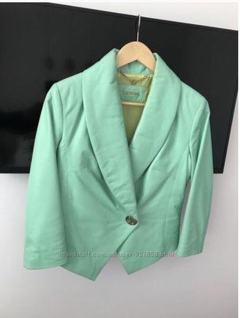 Куртка кожанная Sassofono кожа натуральная