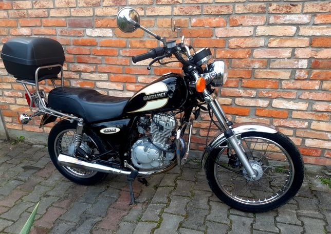 Suzuki GN 125 Oryginał Super Kufer Gmole ***Transport***