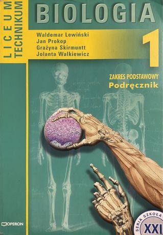 Biologia 1 - liceum, technikum (podręcznik)