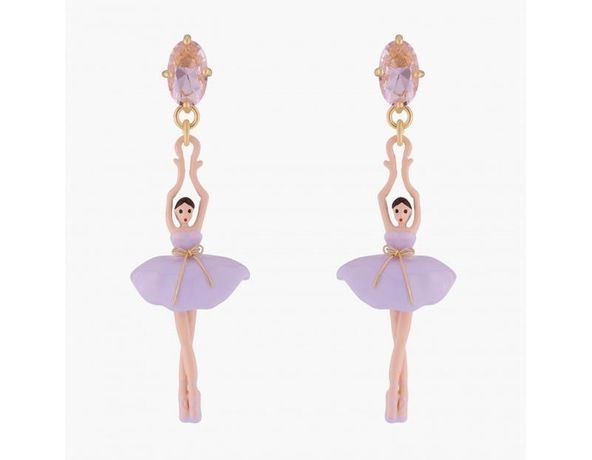 Серьги балерины pas de deux les nereides