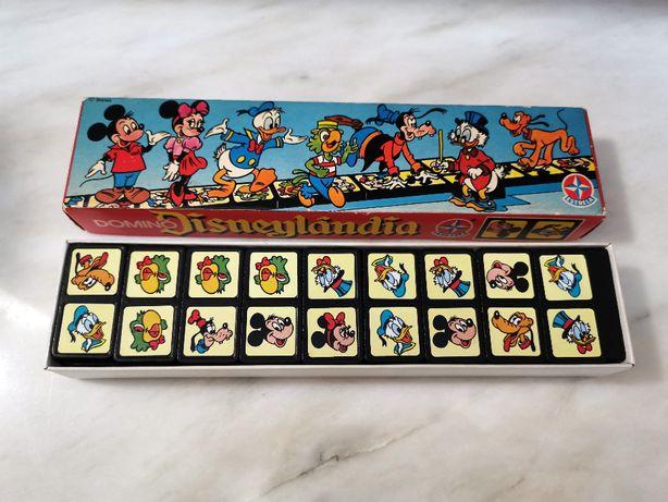 Jogo do Dómino Disneylândia Mickey Mouse Estrela Brasil Disney