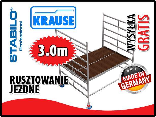 Rusztowanie aluminiowe KRAUSE Stabilo SZEROKIE wys.rob od 3,0m - 14,4m