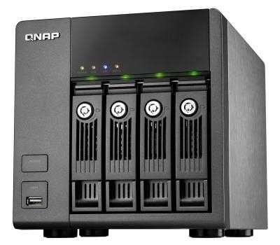 NAS сервер QNAP TS410