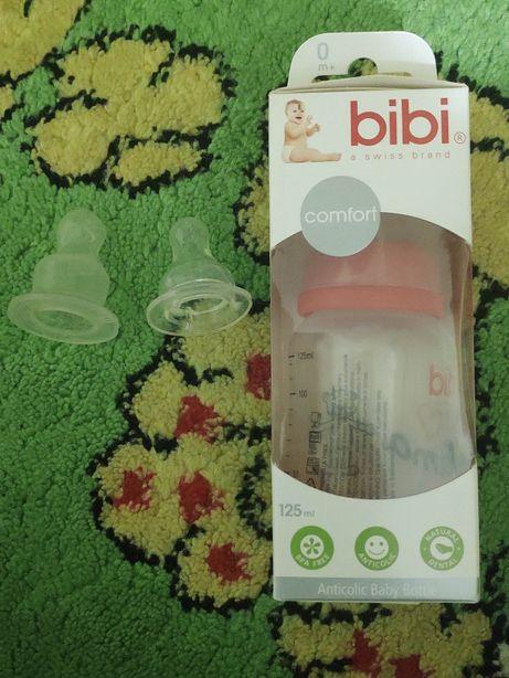 Антиколиковая детская бутылочка Bibi