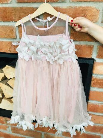 Sukienka dla dziewczynki na wesele, ślub, bez okazji rozm 110