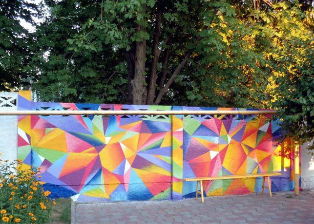 Художник. Роспись стен, граффити оформление. Различные виды работ