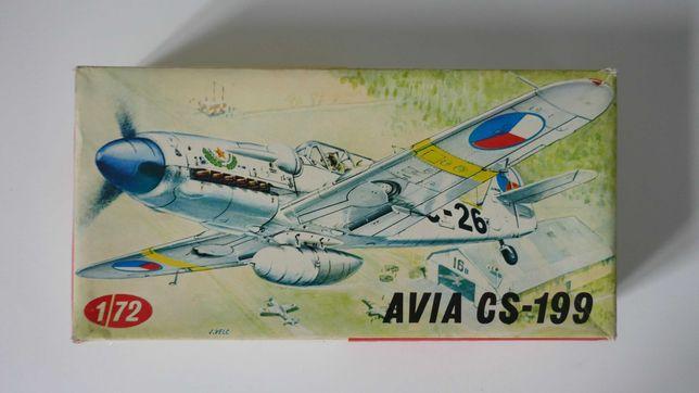 Model samolotu do sklejania Avia CS-199