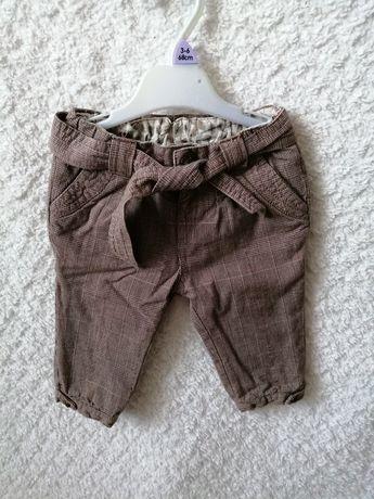Spodnie Zara 68 dziewczynka