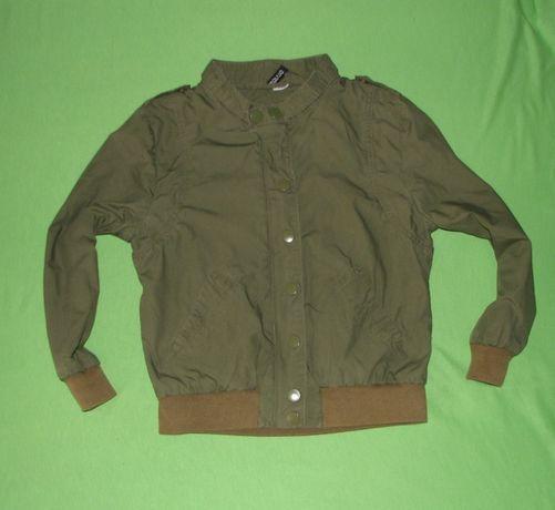 Przejściowa kurteczka khaki H&M r 146