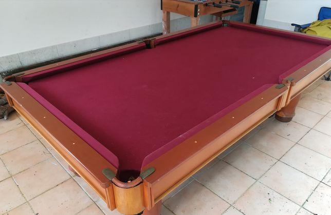 Troca de panos em snooker ou bilhar
