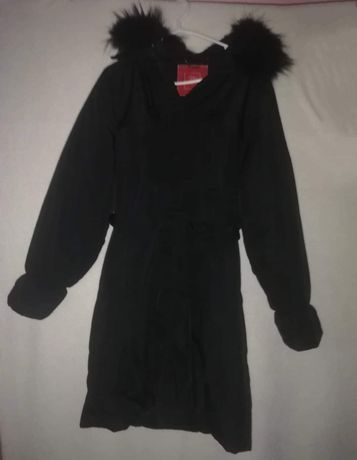 Kurtka zimowa damska czarna