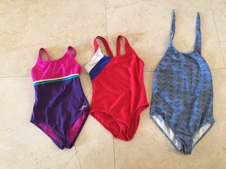 3 fatos de banho piscina (8-10 anos)