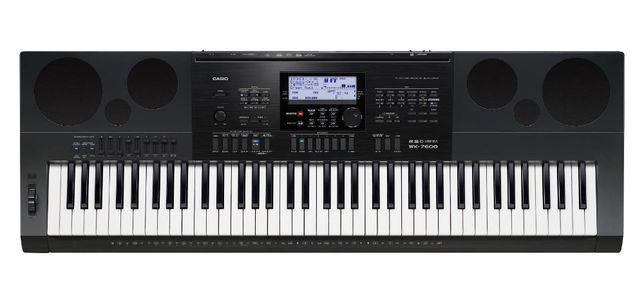 CASIO WK-7600 Keyboard z Dynamiczną Klawiatura
