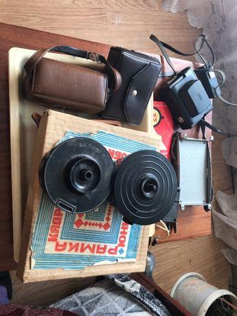 набір для фото фотонабор фотоувеличитель глянцеватель фотоапарат вспы