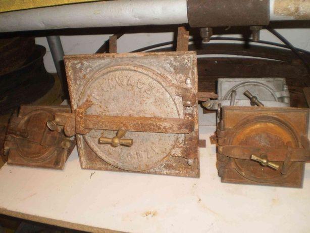 drzwiczki piec kaflowy rewizyjne komin wentylacja schowek