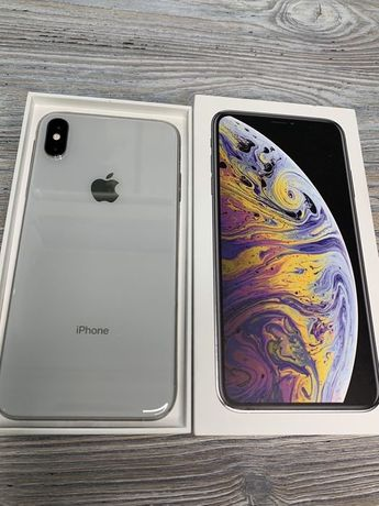 IPhone XS Max 256GB Silver отличный  - EMOJIESTORE