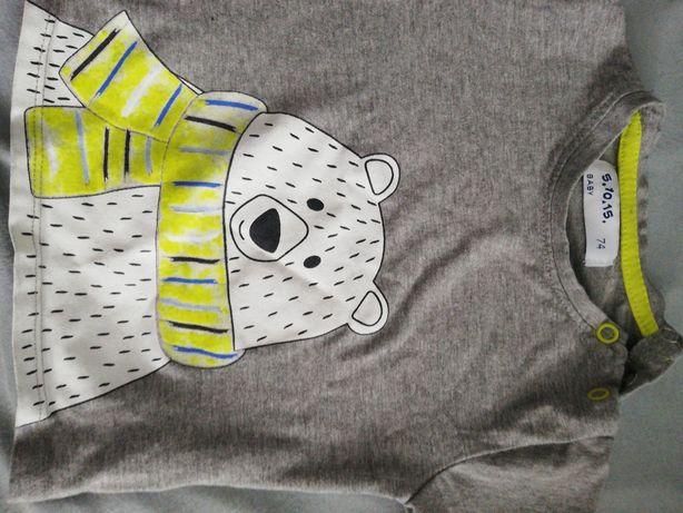 Szara bluzeczka