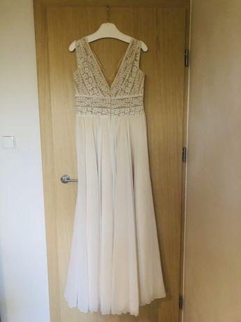 Suknia ślubna - bardzo wygodna, stan bardzo dobry